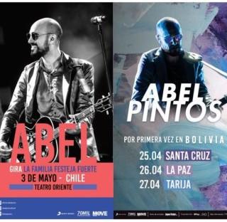 Abel Pintos en Mar Del Plata, Chile y Bolivia