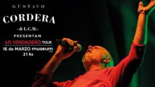 Gustavo Cordera comienza Lo verdadero tour