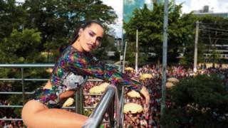 Lali Esposito en el Carnaval de Brasil