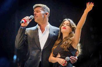 Contratar a Lali y Ricky Martin en laagencia.biz