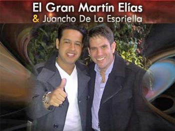Contratar a Martín Elias & Juancho de la Espriella