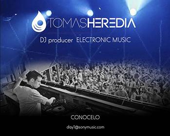 Contratar a Tomas Heredia DJ en laagencia.biz