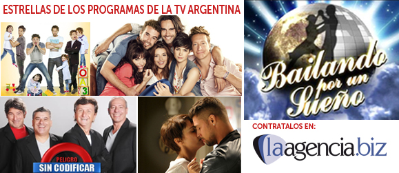 Artistas de la TV argentina
