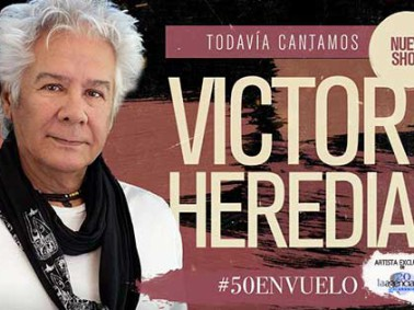 contratar a victor heredia